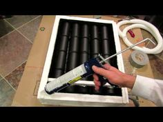 What is a Solar Can Heater? Parts & Final Construction - The Rusted Garden 2013 - YouTube