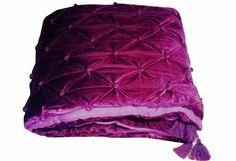 Purple Bedspread, Purple Comforter, Homemade Quilts, Velvet Quilt, Purple Baby, Twin Quilt, Queen Quilt, Purple Velvet, Cotton Bedding