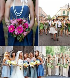 "Do you make your bridesmaids wear a ""uniform""?"