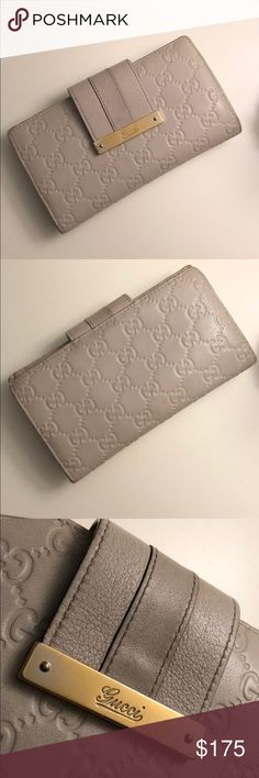 75c27fd4cf02 100% authentic Gucci wallet, off white 100% authentic Gucci wallet, off  white