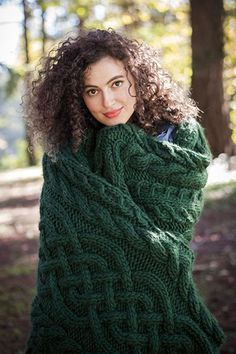Beanstalk Throw - Knitting Patterns and Crochet Patterns from KnitPicks.com by Edited by Knit Picks Staff On Sale