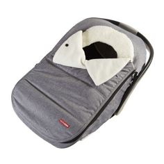 Skip Hop Stroll & Go Car Seat Cover Heather Grey - Car Seat Accessory - Canada's Baby Store