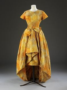 Evening Dress Yves Saint Laurent for Dior, 1960 The Victoria...