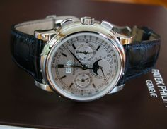 \ Patek Philippe 5970 white gold leather strap perpetual calendar chronograph | the ultimate watch
