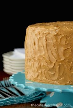 "Best Caramel Cake Recipe - Moist, tender, fabulous cake with a ""to die for"" icing!"