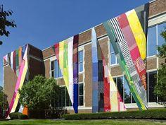 Public art project will dress three Buffalo buildings in fabric - Gusto