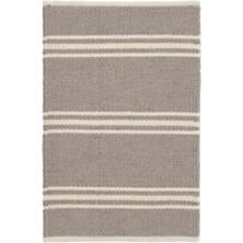 Indoor/outdoor rugs are ideal for high-traffic transition spaces. Annie Selke's Dash & Albert indoor outdoor area rugs are durable, yet stylish and fit in well in many spaces. Dash And Albert, Orange Rugs, Roller Shades, Brown Rug, Rug Sale, Recycle Plastic Bottles, Indoor Outdoor Area Rugs, Grey Rugs, Rug Making