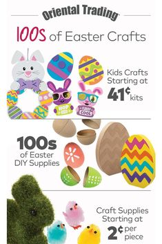 Kids craft kits, DIY supplies and craft essentials. Bunny Crafts, Easter Crafts For Kids, Easter Bunny Pictures, Jesus Crafts, Headband Crafts, Puppet Crafts, Craft Kits For Kids, Leaf Crafts, Diy Supplies
