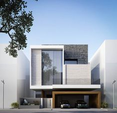 Modern house decoration style: best modern villa design ideas on pinter Architecture Design, Residential Architecture, Amazing Architecture, Contemporary Architecture, Cubist Architecture, Minimalist Architecture, Architecture Awards, Architecture Interiors, Contemporary Interior