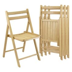 Winsome Folding Chairs - Set of 4 - About Winsome Trading Winsome Trading has been a manufacturer and distributor of quality products for the home for over 30 years. Specializing in furniture...