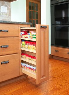 Tedd Wood Fine Custom Kitchen Cabinetry Custom Cabinet Accessories