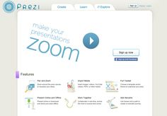 Welcome to Prezi, the presentation software that uses motion, zoom, and spatial relationships to bring your ideas to life and make you a great presenter. Online Presentation, Presentation Software, Facebook Features, Insert Image, Software Online, Instructional Technology, New Theme, Collaboration, Workshop