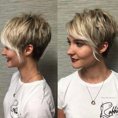 If you are looking for new trendy hairstyles for short hair?Be inspired by these 100 short haircuts and short hairstyles for women.