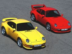 Porsche 911 993 Carrera RS and Porsche 911 993 Carrera RS Clubsport