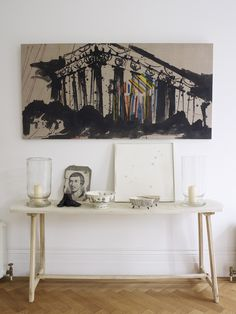 Harriet Anstruther, A bright and modern 1840s London town house- HOME TOURS on flodeau.com 13