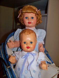 Deux petits Gégé Blog, Dolls, Nice, Vintage, Baby Dolls, Vintage Dolls, Toys, Outfits, Puppet
