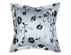 China Blossom Flocked 20-inch Decorative Pillow. Kathy Ireland Home by Bonavista China Blossom Flocked 20-inch Decorative Pillow Bonavista Fabrics decorative pillows are easy to clean and made of quality material for comfortable use. The lightness and brightness of yo.. . See More Decorative Pillows at http://www.ourgreatshop.com/Decorative-Pillows-C685.aspx