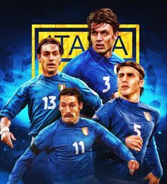 Italy National Football Team, Legends Football, International Football, Fifa, Soccer, Shirts, Italia, Futbol, European Football