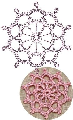 Best 12 No 34 starburst medallion lace crochet motifs – Page 726064771154292985 – SkillOfKing. Crochet Flower Squares, Crochet Puff Flower, Crochet Doily Diagram, Crochet Motif Patterns, Crochet Circles, Crochet Doilies, Crochet Flowers, Crochet Lace, Irish Crochet Charts