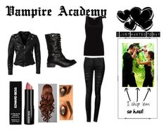 """""""Vampire Academy"""" by peppermint-candy ❤ liked on Polyvore featuring Jigsaw, MuuBaa, DailyLook and Edward Bess"""