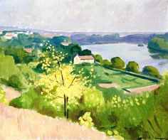 Yellow Tree by Albert Marquet (France)