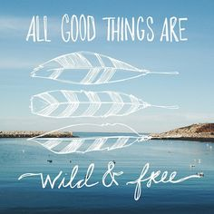 All Goods Things Are Wild & Free