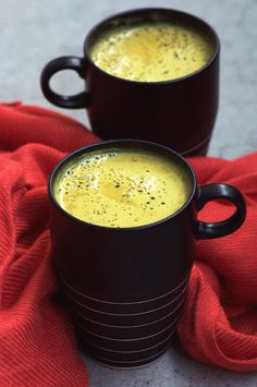 "This simple recipe is perfect this time of year when we really need some warming from the inside out! Whilst it may sound strange, turmeric tea, or ""golden milk"" has been consumed in India for many..."