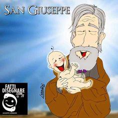 #IlSantodelGiorno #SanGiuseppe Auguri a tutti i #Giuseppe e a tutti i #Papà #GiuseppeLombardi #FattiDisegnare #Caserta