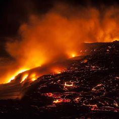 Der #oceanentry am #kilauea #vulkan auf #hawaii bei Nacht.  #99instagramers #99igers by 99igers