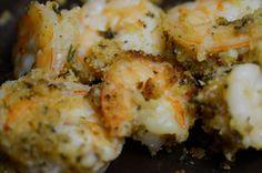 Garlic Baked Shrimp