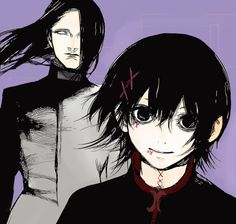 Tokyo ghoul juuzou and hanbe