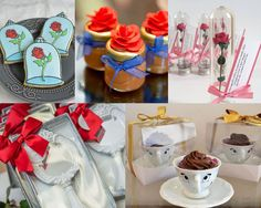 Dica 15 anos - lembrancinhas Festa Bela e a Fera Anita, Beauty And The Beast, Table Decorations, Party, Quinceanera Favors, Moana Party, Ideas Party, Weddings, Parties