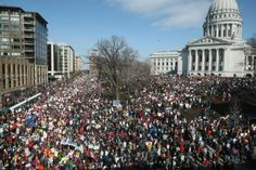 In admiration of level headed, open-hearted Wisconsonites. I saw not one person out of line...peaceful we stood.