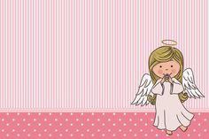 Angelita: Invitaciones para Imprimir Gratis. | Ideas y material gratis para fiestas y celebraciones Oh My Fiesta!