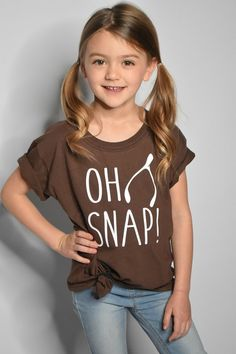 0eed0820cd9e Kid's Thanksgiving shirt - girls thanksgiving shirt - funny thanksgiving  shirt - boys thanksgiving shirt - children's - oh snap t-shirt