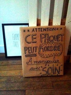 Un paquet cadeau parle de lui-même... Découvrez toutes nos idées de cadeaux originales sur ideecadeau.fr ! #cadeau #message #offrir