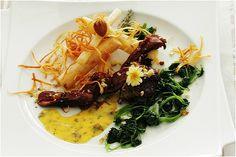 Filet de colvert, scorsonères rôtis et béarnaise aux algues recette de Ta Table Du Connetable.....