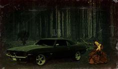 Dark Camaro