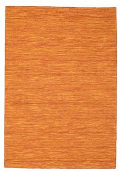 Kelim loom - Roestkleur / Oranje tapijt CVD8778