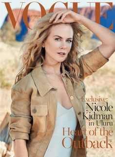 First look: Nicole Kidman for Vogue Australia September 2015: The Australian actress travelled to Uluru for the shoot.