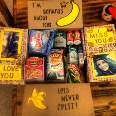 Deployment care package Ideas Helping get through deployment