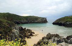 Playa de Cue #Llanes #playa #beach #Asturias #ParaísoNatural #NaturalParadise #Spain