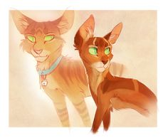 Firestar and Jake by Finchwing.deviantart.com on @DeviantArt