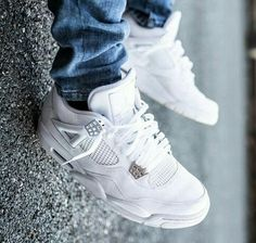 Air jordan 4 IV all white *.*