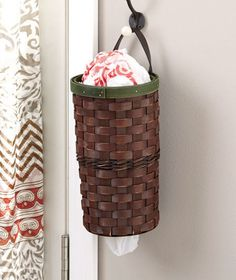 Plastic Bag Dispenser Baskets | LTD Commodities