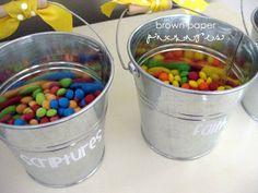 General Conference treat buckets - Simply Kierste