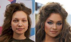Ο 29χρονος  γκουρού της ομορφιάς Vadim Andreev από την Αγία Πετρούπολη, βρήκε έναν εντυπωσιακό ομολογουμένως τρόπο για να διαφημίσει την δουλειά του σαν  make-up artist.  Δημοσίευσε διαδικτυακά μια σειρά φωτογραφιών Πριν και Μετά, με τις οποίες αποδεικνύει πως,  χρησιμοποιώντας μόνο καλλυντικά, μπορεί να μεταμορφώσει γυναίκες της διπλανής πόρτας,  σε μοντέλα για εξώφυλλα περιοδικών !