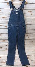 Vintage 90s Calvin Klein Jeans Womens Small Blue Denim Overalls Straight Leg