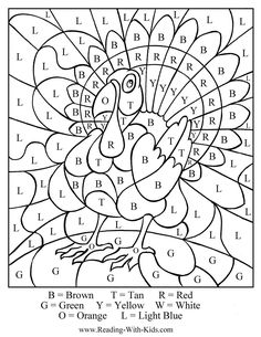 thanksgiving-turkey-color-by-number-letter.jpg (1000×1294)