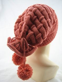 Yoke-to-use Two bere - Knitting Crochet Knitting Designs, Knitting Patterns, Crochet Patterns, Loom Knitting, Baby Knitting, Knit Crochet, Crochet Hats, Winter Hats For Women, Beanie Hats